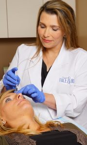 In many cases, Dr. Elizabeth Whitaker can perform non-surgical options for a brow lift.