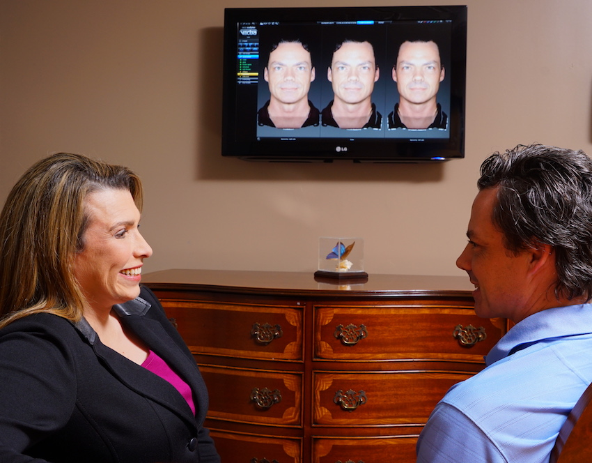 Dr. Elizabeth Whitaker Uses 3D Vectra Imaging to simulate surgical outcomes for facial procedures. Call Atlanta Face & Body today for a Free Consultation.