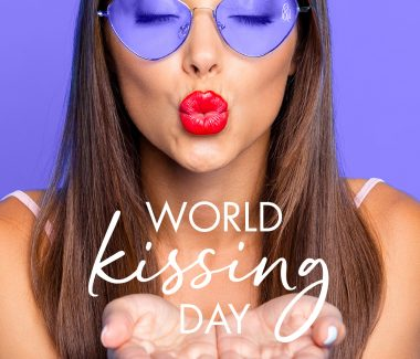 Long Live These Kissable Lips. World Kissing Day – July 6th