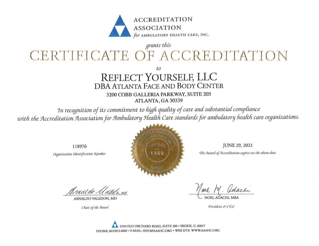 AAAHC Accredited