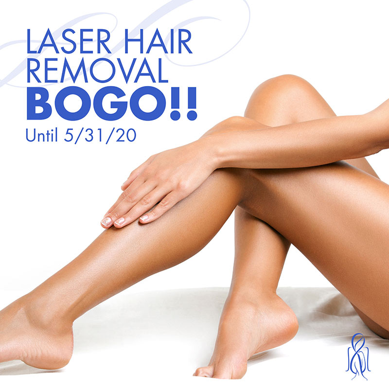 Laser Hair Removal BOGO