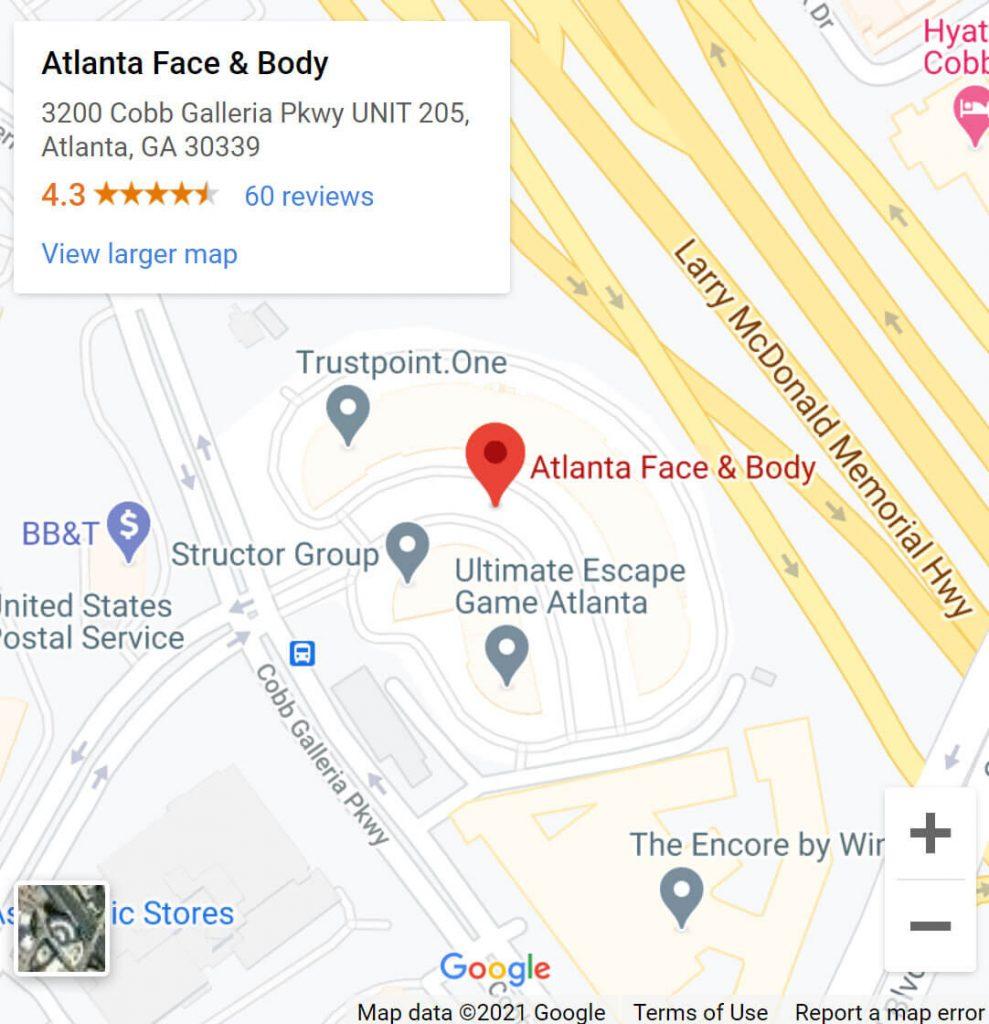 Atlanta Face and Body Location